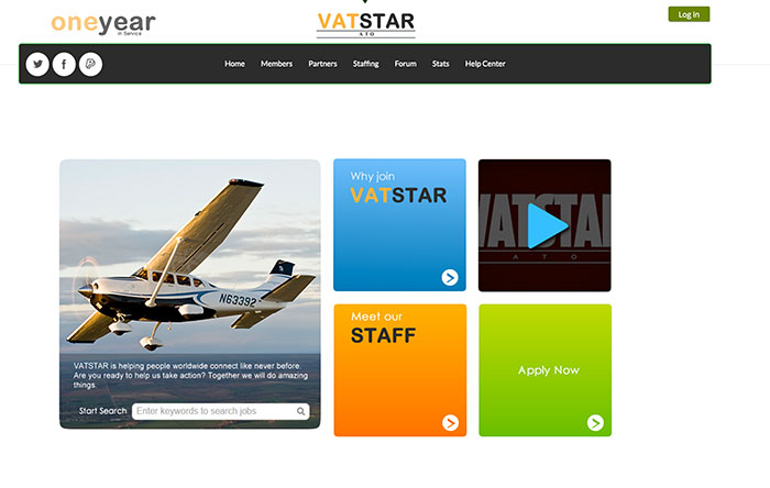 Screenshot of the VATSTAR openings section