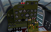 The VC (virtual cockpit) of the AT-11.