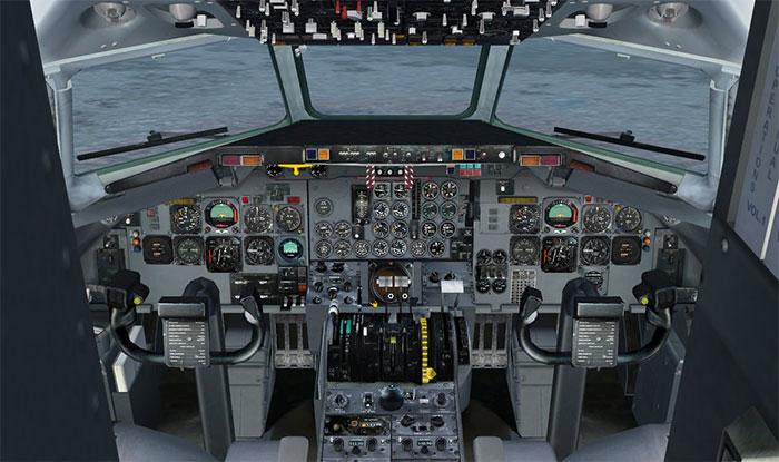 DC9 Virtual cockpit