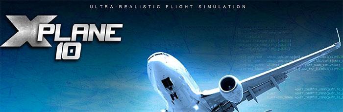 X-Plane 10 banner artwork