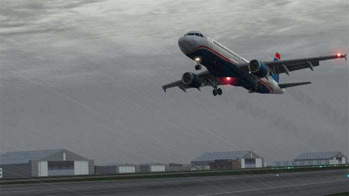 Screenshot from X-Plane 10 Mobile