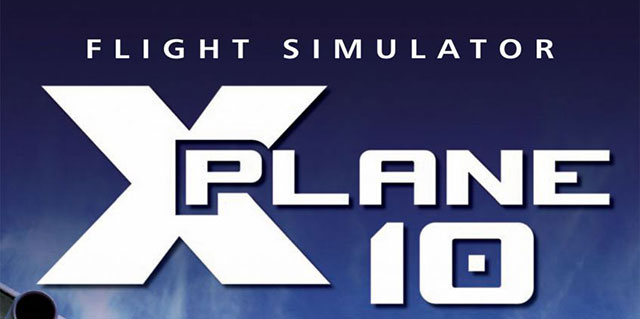 X-Plane 10's Physical Box Artwork.