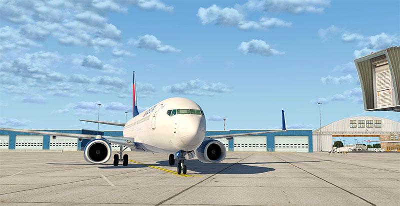 Boeing 737-800/BBJ2 in XP11.