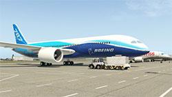 787 in XP11.