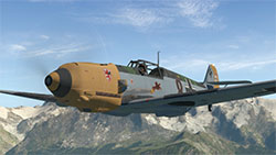Me 109-E4 in flight in XP11.