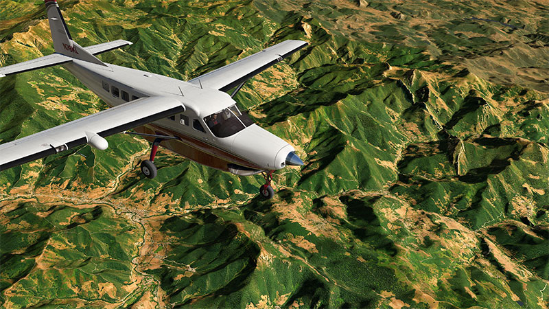 Spain Ultra High Definition photoreal for XP10/XP11.