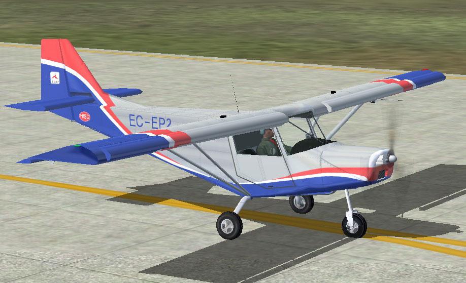 I C P Bingo Hks Engine Ultralight Fsx on 4 Stroke Ultralight Aircraft Engines
