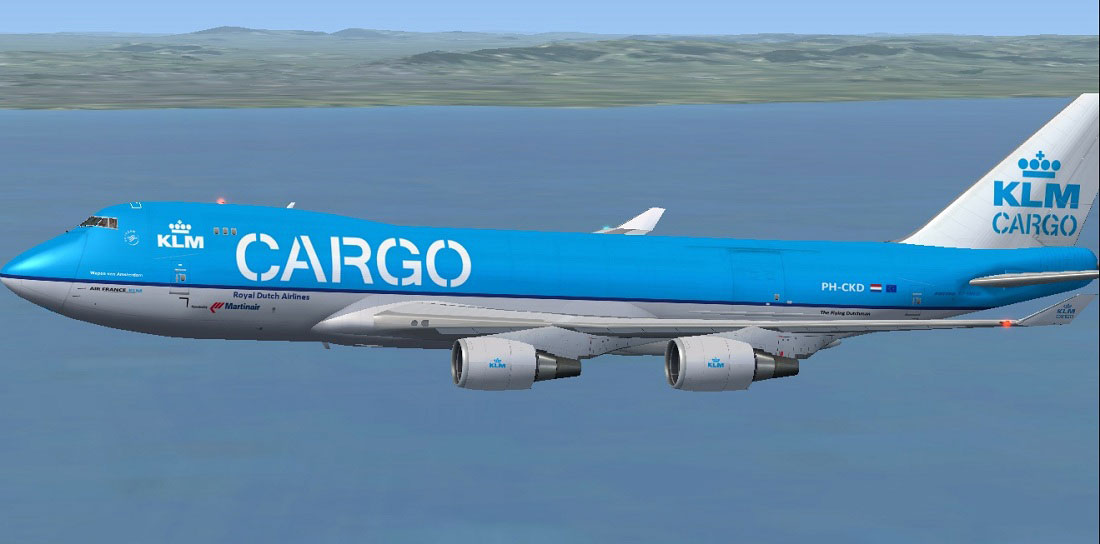 Klm Cargo Royal Dutch Airlines Boeing 747 406erf For Fsx