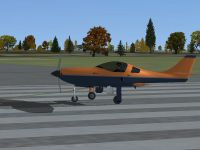 RSDG Lancair on runway.