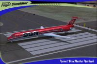 SBA Airlines McDonnell Douglas MD-83 on runway.