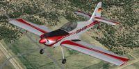 SP-2 Acceleration Zlin Z-50L in flight.