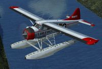 USAF DeHavilland DHC-2 Beaver in flight.