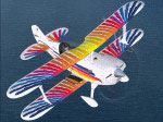 Acceleration Christen Eagle in flight.