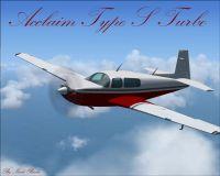 Acclaim Type S Turbo in flight.