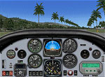 Cockpit panel of Aeroworks ARX-5X Coyote.