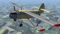 Antonov AN2 in flight.