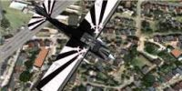Bellanca Super Decathlon in flight.