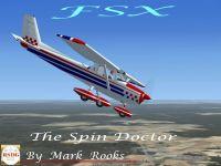 Bill K. Kershner's Aerobat in flight.