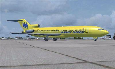 Hughes Airwest Boeing 727-200 ADV.