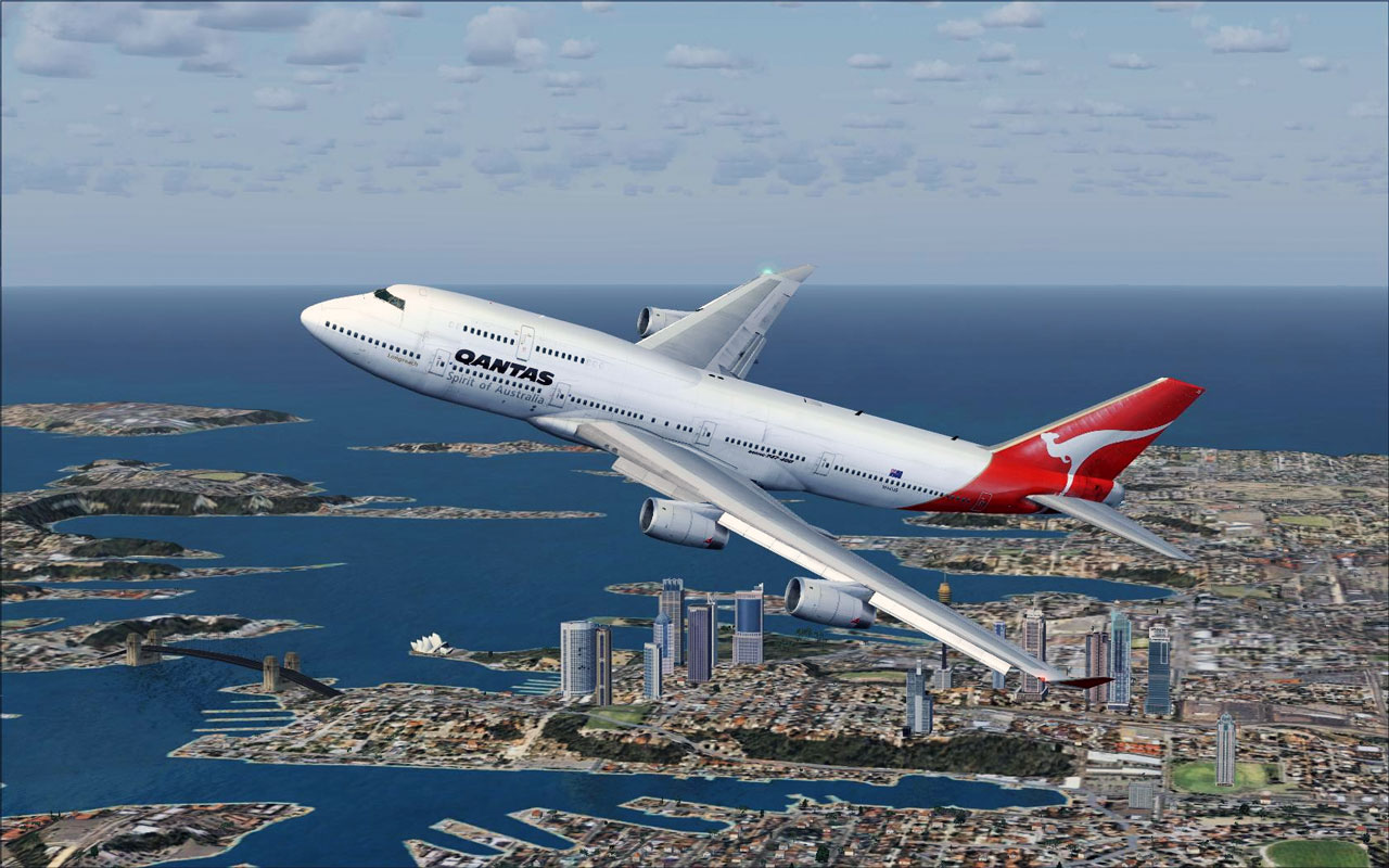 Flight Simulator X Wallpaper: Microsoft Flight Simulator X