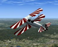 Boeing Model 75 Stearman in FSX.