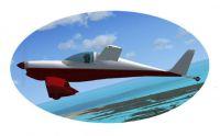 Burt Rutan Q-200 in flight.