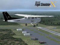 Cessna 172 Skyhawk in flight.