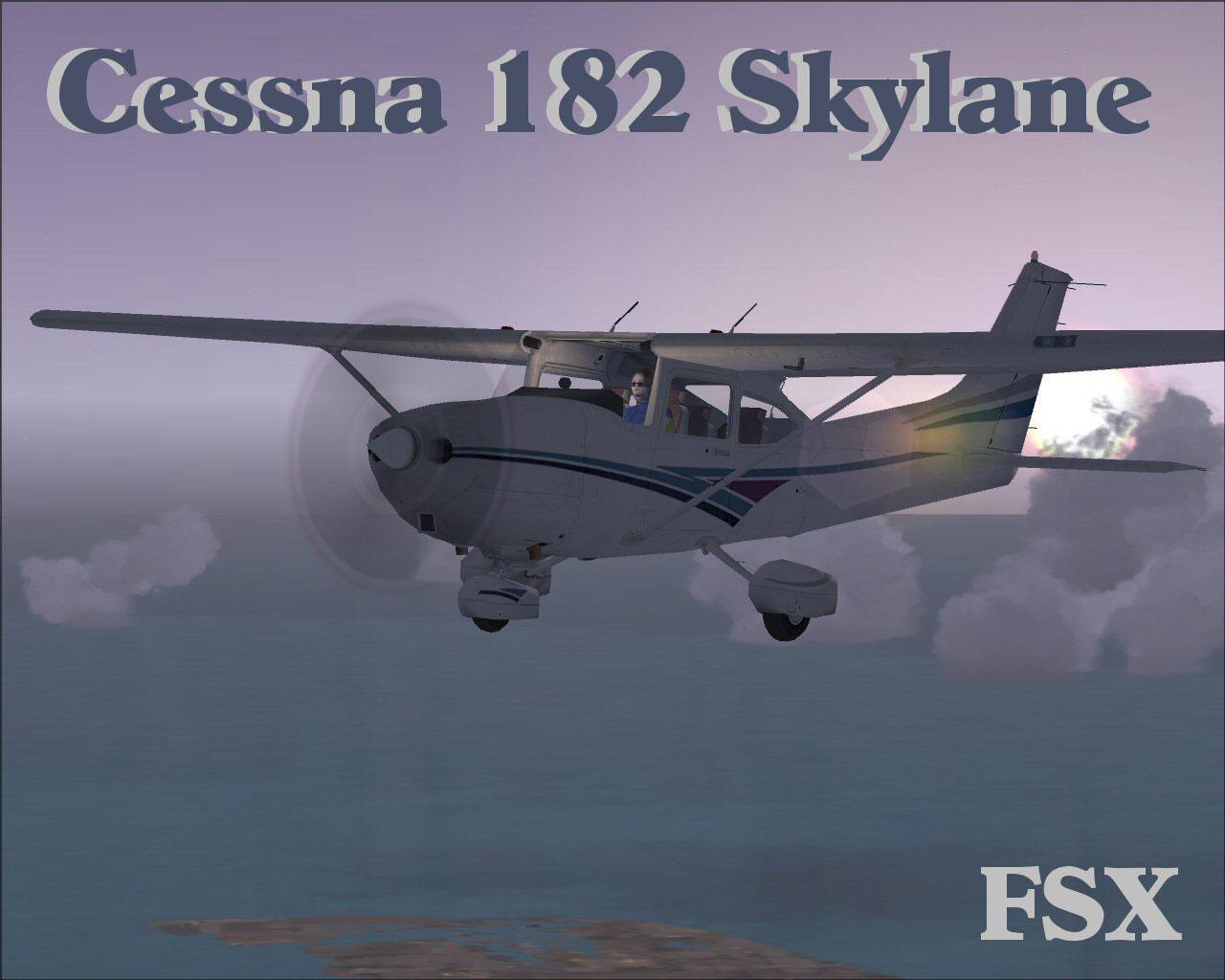 Cessna 182 Skylane For Fsx