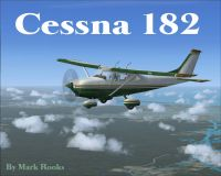 Cessna 182 Used Trainer in flight.