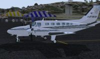 Cessna 441 Conquest on tarmac.