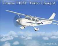 Cessna T182T Turbocharged in flight.