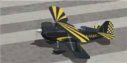 Christen Eagle II repaint on runway.