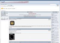 Screenshot of cockpitbuilders.com website