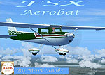 Dark Green/Red Cessna 150 Aerobat.