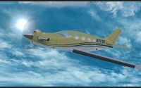 Epic LT N701SD in flight.