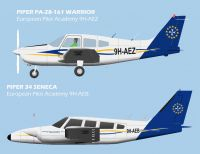 European Pilot Academy Aircraft.