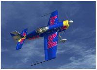 Extra 300 Prop in flight.