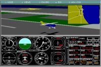 Screenshot from Microsoft Flight Simulator 3