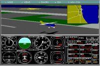 Screenshot from Microsoft Flight Simulator 3