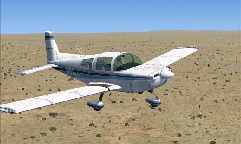 FSX/SP2 Grumman American AA1-5...