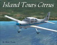 Island Tours Cirrus in flight.