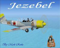 Jezebel Yak 52 in flight.