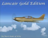 Lancair Gold Edition GAP in flight.
