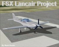 Lancair Project on runway.