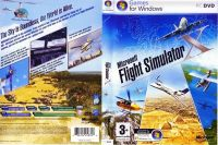 The original box artwork for Microsoft Flight Simulator X.