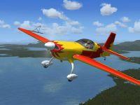 Extra 300S in flight.