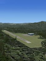 Screenshot showing airstrip