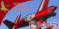 Royal Jordanian Falcons Extra 300S in flight.