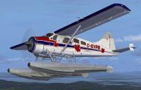 SaltSpring Air DHC-2 Beaver in flight.