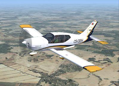 Socata TB200GTXL Tobago in flight.